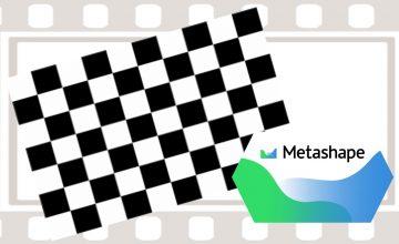 Agisoft Metashape(旧photoscan)  カメラキャリブレーション