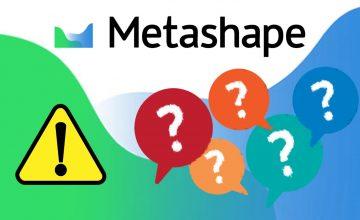 Agisoft Metashape(旧photoscan)  注意事項・Q&A・他